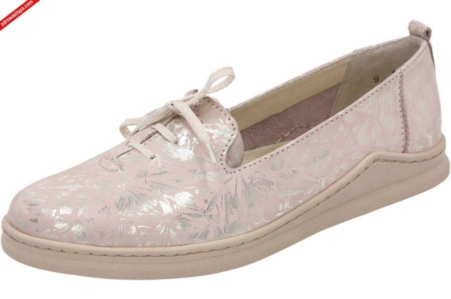 Buty Bianco pudrowy róż